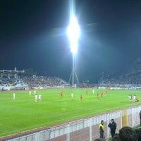 Das Foto wurde bei NK Rijeka - Stadion Kantrida von Kristijan G. am 10/20/2012 aufgenommen
