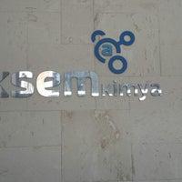 6/19/2014 tarihinde Dilek A.ziyaretçi tarafından Aksem Kimya & Hydrosafe'de çekilen fotoğraf