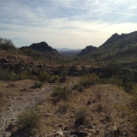 Photo taken at Phoenix Mountains Park and Recreation Area by Laura G A. on 3/31/2013