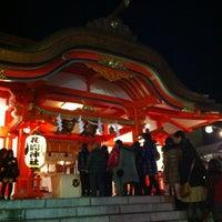 Foto diambil di Hanazono Shrine oleh Lohsenpai pada 1/1/2012
