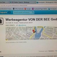 รูปภาพถ่ายที่ Werbeagentur VON DER SEE GmbH โดย Sebastian F. เมื่อ 1/11/2012