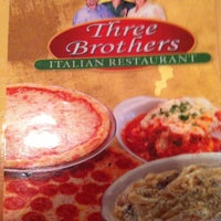 Photo Taken At Three Brothers Italian Restaurant By Tugcem G On 6