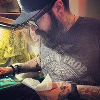 Снимок сделан в Rivington Tattoo пользователем Kate T. 5/2/2013