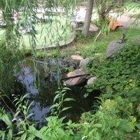 Das Foto wurde bei Big Stone Mini Golf & Sculpture Garden von Lily am 8/20/2014 aufgenommen