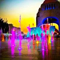 Foto diambil di Monumento a la Revolución Mexicana oleh Daniel M. pada 4/22/2013