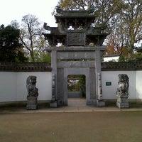 Das Foto wurde bei Chinesischer Garten von Joaquín J. am 11/1/2012 aufgenommen