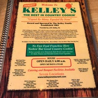 Menu - Kelly's Country Cookin