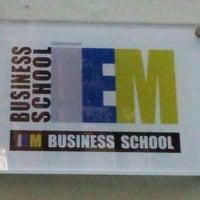 Foto tomada en IEM Business School por José Antonio S. el 11/30/2012