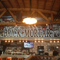 Photo Taken At Brick Mortar By Allison On 1 2017