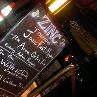 Foto scattata a Zinc Bar da YY il 1/11/2013