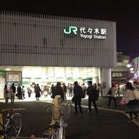 Foto tirada no(a) JR Yoyogi Station por prototechno em 10/25/2012