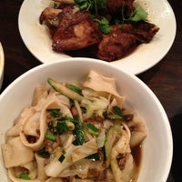 11/23/2012 tarihinde Ziyaoziyaretçi tarafından Xi'an Famous Foods'de çekilen fotoğraf