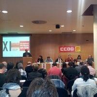 Photo prise au CCOO par Josep M. R. le11/16/2012