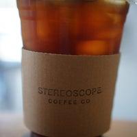 4/21/2018 tarihinde Kim H.ziyaretçi tarafından Stereoscope Coffee Company'de çekilen fotoğraf