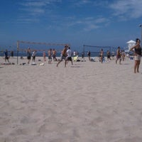 Photo Taken At Ocean Beach Volleyball Courts By Stephen D On 9 29