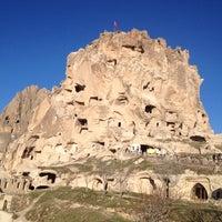12/15/2012 tarihinde Sertacziyaretçi tarafından Uçhisar Kalesi'de çekilen fotoğraf