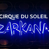 Zarkana By Cirque Du Soleil Now Closed The Strip Las Vegas Nv