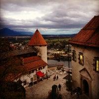 Foto scattata a Blejski Grad | Bled Castle da Olga il 11/3/2012