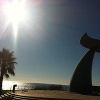 Foto tirada no(a) Passeio Marítimo de Oeiras por Ana M. em 12/2/2012