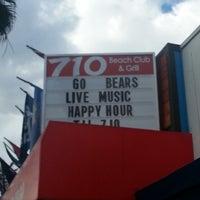 12/30/2012에 Reggie A.님이 710 Beach Club에서 찍은 사진
