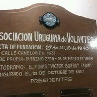 Das Foto wurde bei Asociacion Uruguaya de Volantes von German H. am 6/7/2013 aufgenommen