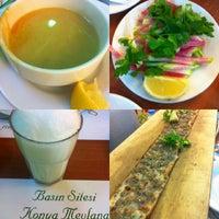Das Foto wurde bei Konya Mevlana Restaurant von Cansu am 2/25/2014 aufgenommen