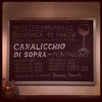 รูปภาพถ่ายที่ Osteria Brunello โดย Osteria B. เมื่อ 3/8/2013