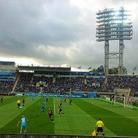 Foto tirada no(a) Стадион «Петровский» por K🔫A💣T🔪I💀E em 9/28/2013