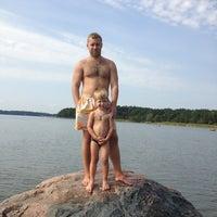 Снимок сделан в Kallahdenniemen uimaranta пользователем Artyom 8/18/2013