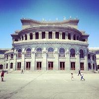 Снимок сделан в Армянский театр оперы и балета им. Спендиарова пользователем Alen P. 6/8/2013