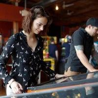 Снимок сделан в Boxcar Bar + Arcade пользователем The News & Observer 3/21/2015