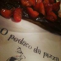รูปภาพถ่ายที่ O Pedaço da Pizza โดย Mariana F. เมื่อ 5/10/2013
