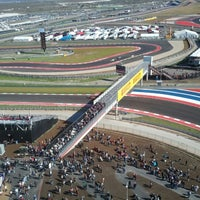 Foto tirada no(a) Circuit of The Americas por Jon C. em 11/16/2012