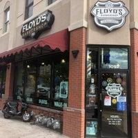 Photo Taken At Floydamp39s 99 Barbershop By Niku On 8