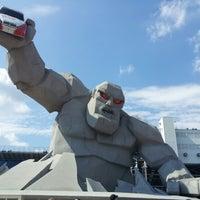 Снимок сделан в Dover International Speedway пользователем Maggie 9/30/2012