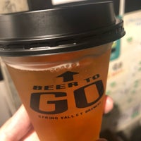 """Foto scattata a """"BEER TO GO"""" by SPRING VALLEY BREWERY da Yokky il 10/6/2018"""