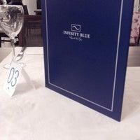 Foto tirada no(a) Restaurante Blue Marine por Marcella L. em 2/16/2014