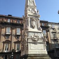 Foto scattata a Piazza San Domenico Maggiore da 🌸Алина🌸 М. il 5/3/2013