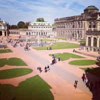 Dresdner Zwinger - Site historique à Dresden