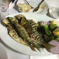 6/9/2013 tarihinde Burcak D.ziyaretçi tarafından Ahırkapı Balıkçısı'de çekilen fotoğraf