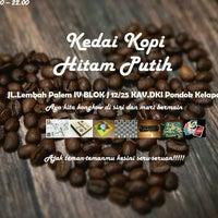 Gambar Kedai Kopi Hitam Putih Foto Di Kedai Kopi Hitam Putih Coffee Shop In Duren Sawit