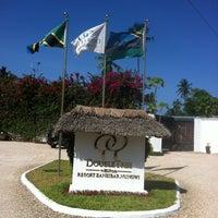 Photo taken at DoubleTree Resort by Hilton Hotel Zanzibar - Nungwi by Krišjānis B. on 2/11/2013