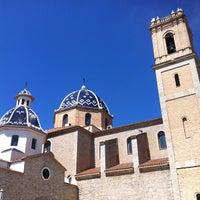 Foto tomada en Plaça de l'Església / Plaza Iglesia Altea por Alvaro L. el 4/9/2012