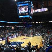 Das Foto wurde bei State Farm Arena von Matthew B. am 3/14/2013 aufgenommen