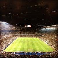 Foto tomada en Camp Nou por Kseniya T. el 5/12/2013