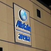 Foto tomada en Allstate Arena por Willche el 10/22/2012