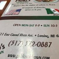 Foto tomada en Pablo's Old Town Mexican Restaurant por Laura P. el 9/28/2018