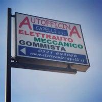 Das Foto wurde bei Autofficina Capelli von Autofficina Capelli am 3/8/2019 aufgenommen