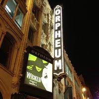 Foto scattata a SHN Orpheum Theatre da Akit il 1/25/2013