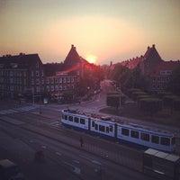 5/19/2014 tarihinde Jeff W.ziyaretçi tarafından Olympiaplein'de çekilen fotoğraf